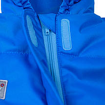 Детский комбинезон зимний /деми с опушкой Дискавери ДоРечі (разные размеры, голубой), фото 3