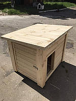 """Деревянная будка """"Омега"""" для собак, фото 1"""