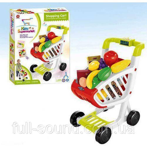 Тележка с продуктами супермаркет 922