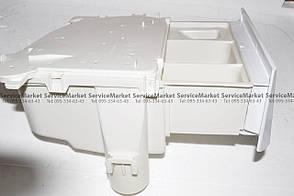 Порошкоприемник (дозатор) с лотком всборе  для стиральной машины Indesit (Индезит) Оригинал