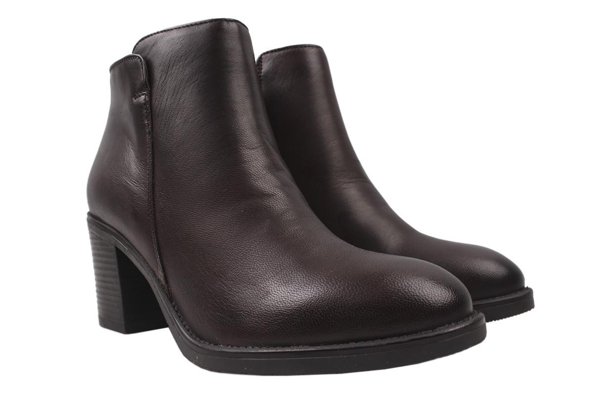 Ботинки женские MARCO натуральная кожа, цвет коричневый, размер 36-41, Италия