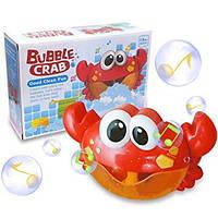 """Bubble Crab (оригинал) игрушка для ванны пенообразователь """"Краб"""""""