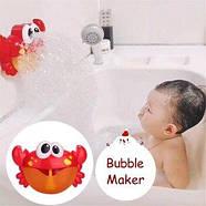 """Bubble Crab (оригинал) Музыкальный краб игрушка для ванны пенообразователь """"Краб"""", фото 4"""