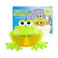 """Bubble Frog (оригинал) Музыкальная жабка игрушка для ванны пенообразователь """"Жабка"""""""