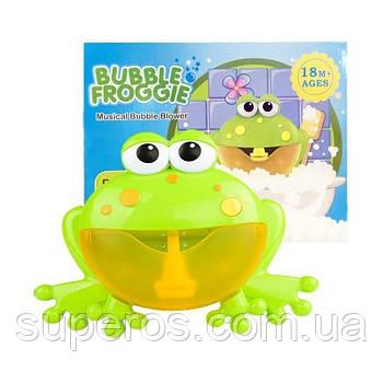 """Bubble Frog (оригінал) Музична жабка іграшка для ванни піноутворювач """"Жабка"""""""