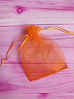 Мешочек из органзы /размер 13х18 см./ упаковка подарков/ цвет оранжевый
