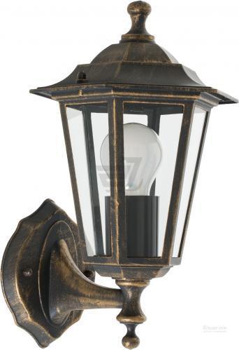 Светильник садовый Expert Light Atlanta E27 60 Вт IP44 античная латунь ELWF-36001S-W