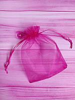 Мешочек из органзы /размер 13х18 см./ упаковка подарков/ цвет фуксия