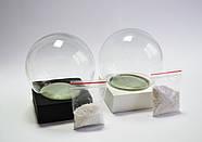 Набор для создания снежного шара 100мм черная подставка, фото 5