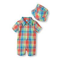 Детский летний комплект для мальчика 9-12 месяцев