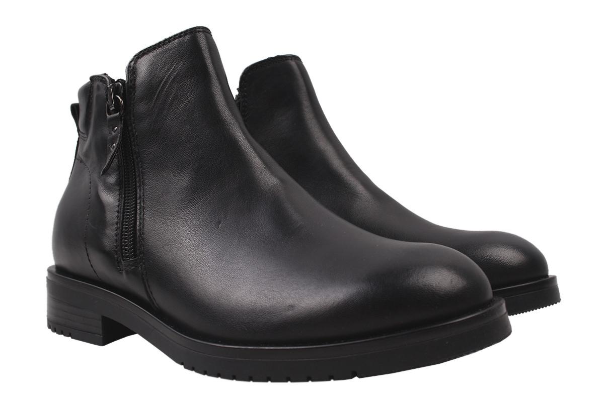 Ботинки женские MARCO натуральная кожа, цвет черный, размер 36-41, Италия