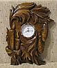 Часы из дерева на стену