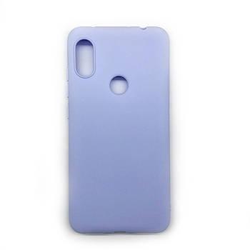 Силиконовый чехол TPU Soft for Xiaomi Redmi Note 6 / 6 pro Фиолетовый / Лиловый