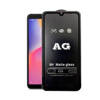 Матовое 5D стекло для Xiaomi Mi 9 SE Black Черное - Полный клей
