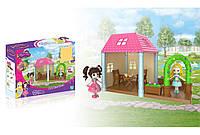 Набор игрушечный домик на 2 комнаты
