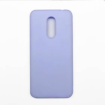 Силиконовый чехол TPU Soft for Xiaomi Redmi 5 Фиолетовый / Лиловый