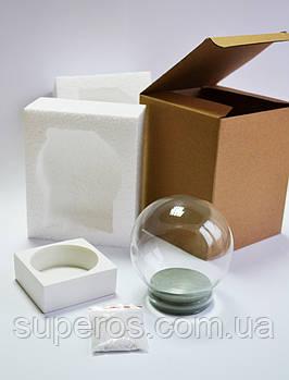 Заготовка набор для творчества 100мм белая подставка