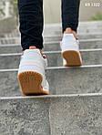 Мужские кроссовки Adidas Forum Mid (бело-красные), фото 4