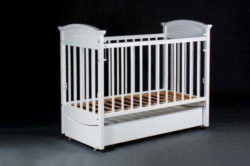 """Детская кроватка """"Наполеон VIP"""" ( Белая )"""