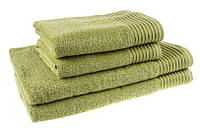 """Полотенце (40х70 см) махровое """"Terry Lux 400"""" оливковое, фото 1"""