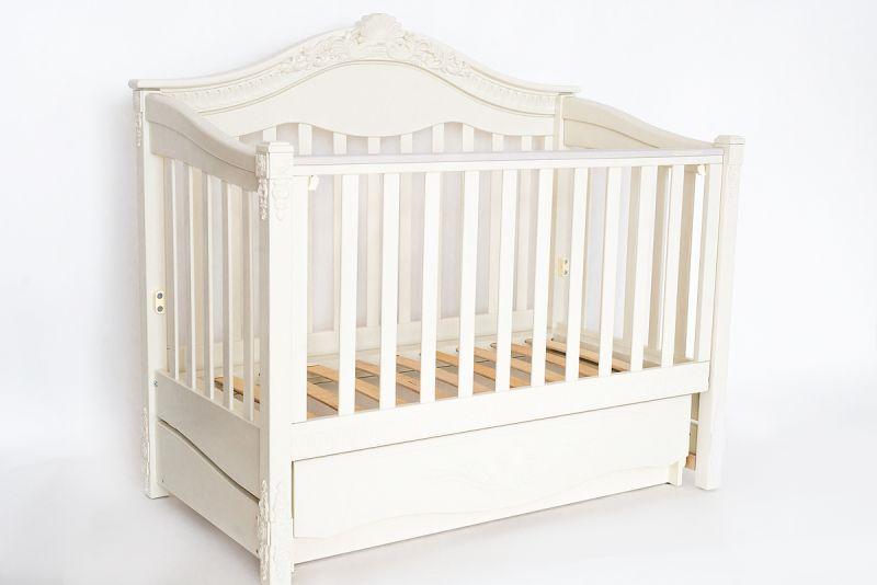"""Детская кроватка """"Victoria Premium"""" ( Белая )"""