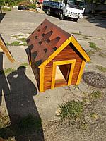 """Деревянная будка """"Люкс"""" для крупных пород, фото 1"""
