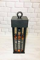 Клетка футляр для бутылки виски «Jack Daniel's 1л.» или «Jim Beam 1л.» BRUTALL-120380, фото 1