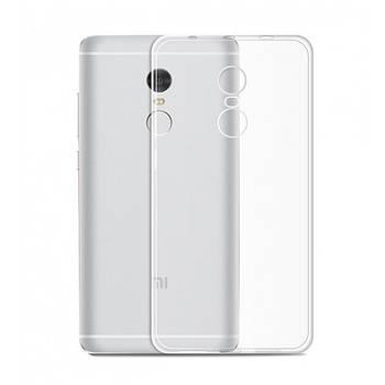 Ультратонкий силиконовый чехол 0.3 mm for Xiaomi Redmi Note 4X