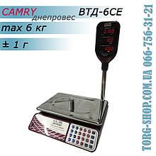 Торговые весы Camry Днепровес ВТД-6CЕ