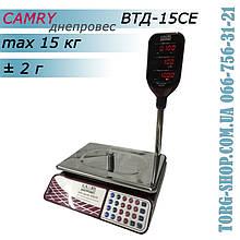 Торговые весы Camry Днепровес ВТД-15CЕ