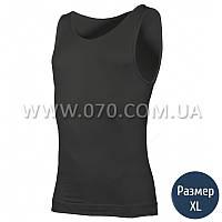 Термомайка мужская Lasting Atel (180 г/м2, L/XL), черная