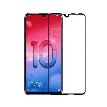 3D стекло для Huawei Honor 10 Lite Черное - Full Cover