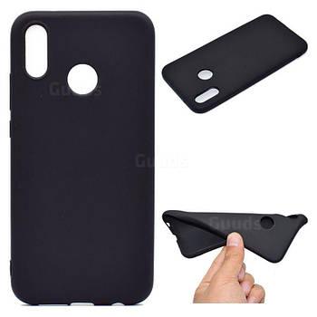 Силиконовый чехол TPU Soft for Huawei P20 Lite Черный