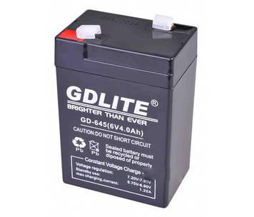 Акумулятор GDLITE 6V 4.0 Ah GD-645 (sp1891)
