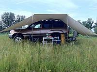 Тент гараж для авто из ПВХ ткани
