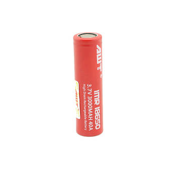Акумуляторна батарея AWT 18650 3000 mAh 3.7 V 40A 2 шт. (hub_np2_0126)