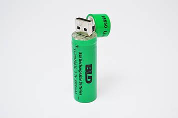 Акумуляторна батарея BLD 18650 3800 mAh 3.7 V c USB (hub_np2_0402)