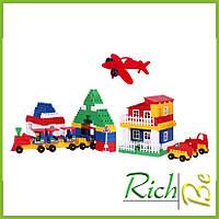 Пластиковый конструктор для детей Техно 6