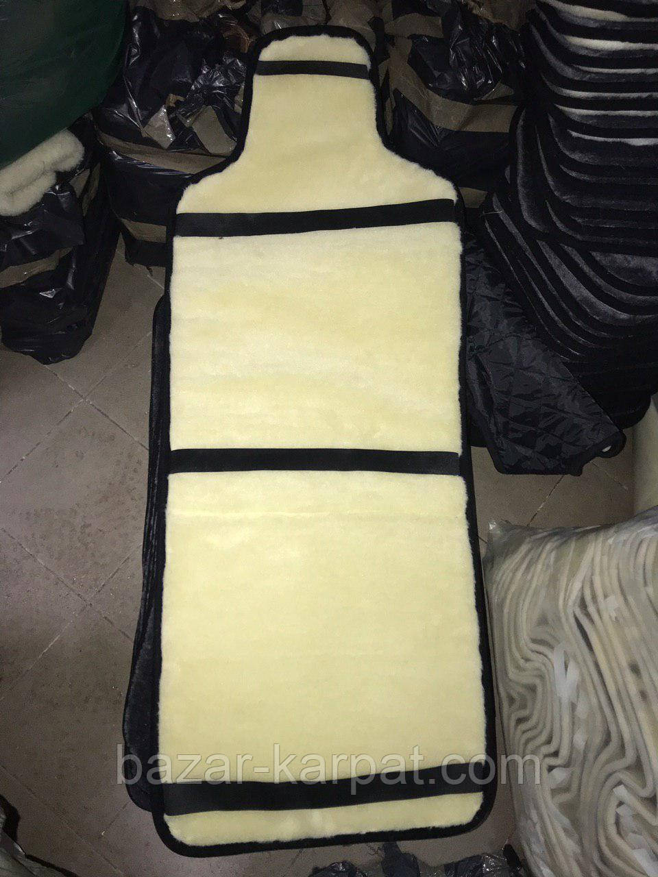 Накидка на сиденье из овчины - фото 2