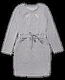 Плаття для дівчинки PL-19-36-3 *Киттибум* (Колір: сірий, Розміри - 116, 134), фото 2