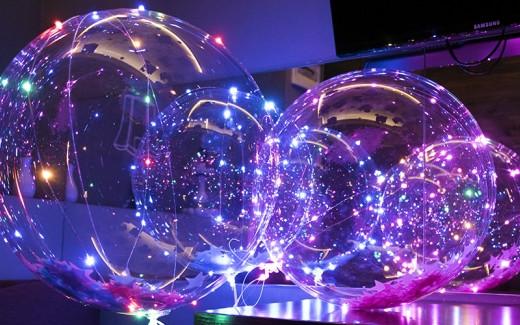 шары на светодиодах