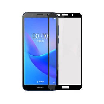 3D стекло для Huawei Y5 2018 Черное - Full Cover