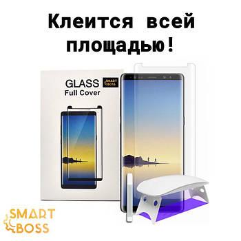 Защитное cтекло 5d для Samsung S8 Liquid Full Glue Premium Smart Boss™