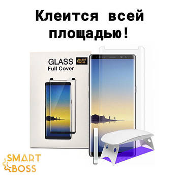 Защитное cтекло 5d для Samsung Note 9 Liquid Full Glue Premium Smart Boss™