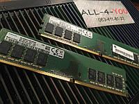 Оперативна пам`ять SAMSUNG DDR4 8GB DIMM 1.2V 1Rx8 PC4 - 2400T  CL17 (17-17-17) Intel/AMD