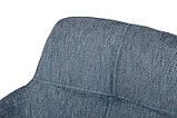 Кресло поворотное OLIVA синий (бесплатная доставка), фото 3