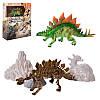 Динозавр 708B, 16см, 3D скелет динозавра