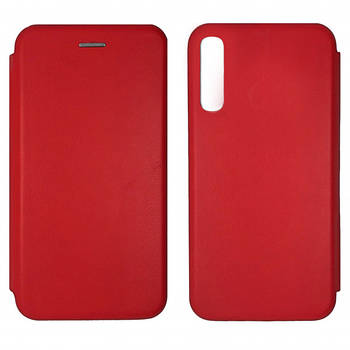 Чехол-книжка Level for Samsung A50 (A505F) Red