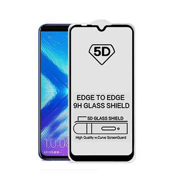 5D стекло для Samsung M10 Black Черное - Полный клей / Full Glue