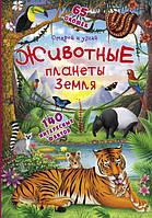 Книжка с секретными окошками.Открой и узнай.Животные планеты Земля 9789669369512 Кристал Бук
